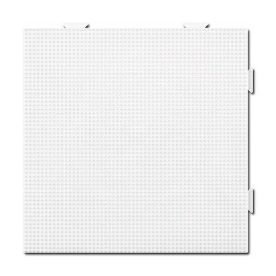 HAMA mini Bügelperlen-Stiftplatte weiß Nr.593 Viereck Multi
