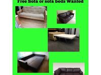 Free sofa wanted can collect same day