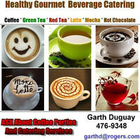 Hot Beverage Catering Service: Weddings, Parties, Outdoor Events