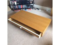 Must go by Friday 30th offers welcome - Coffee table with sliding internal drawer