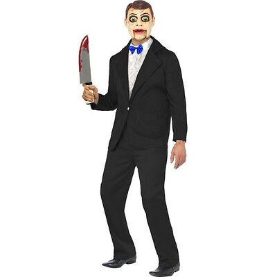 Ventriloquist Dummy Costume (VENTRILOQUIST DUMMY BAUCHREDNER KOSTÜM - Mörder Zirkus Cirque Sinister Irrer)