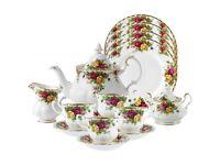 Royal Albert tea service