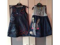 Girls dresses 12-18months