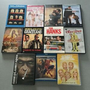 Lot of 11 Movie DVDs