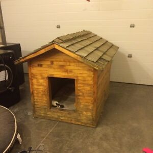 Well built Insulated Doghouse