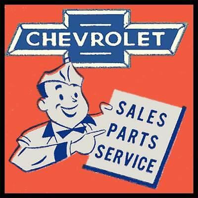 Chevrolet Sales Parts Service  Fridge Magnet