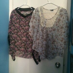 Size large woman's clothing lot