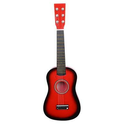 "23"" Acoustic Guitar Pick Strings Red"