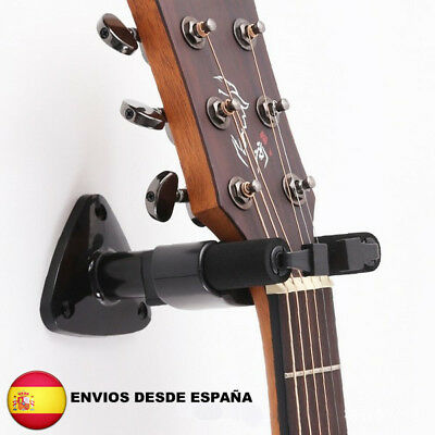 Soporte de pared para guitarras tradicional eléctrica todo tipos y tamaños