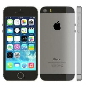 Apple iPhone 5s 16gb Black Locked to Telus Clearance Price with FREE CASE