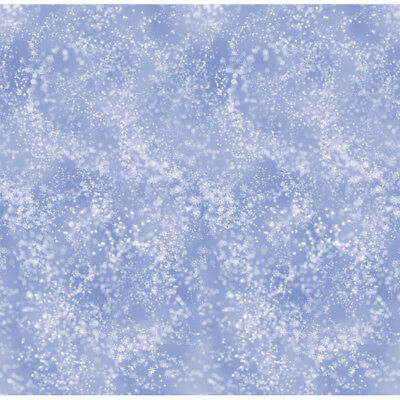 40ft Giant Snow Flurries Christmas Party Scene Setter Room Roll Wall Decoration