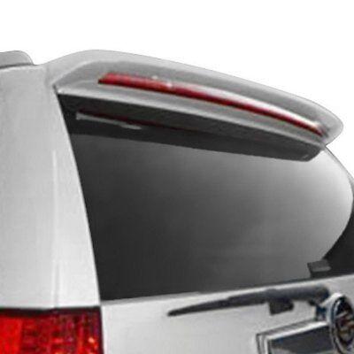 For Cadillac Escalade 08-14 Spoiler Custom Style Fiberglass Rear Roofline