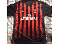 AC Milan home football shirt