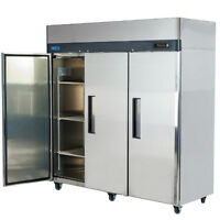 3 and 2 door Freezer Cooler Oven Mixer Smoker Meat Saw Showcase