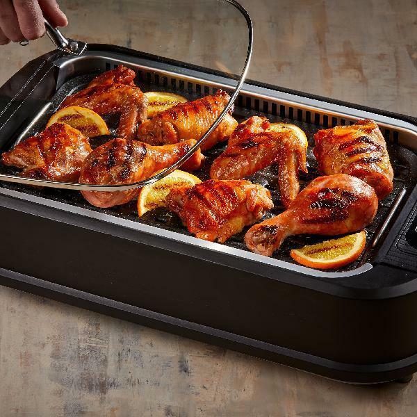 Smokeless Grill Indoor Portable Electric Bbq Kitchen Non Sti
