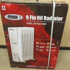 9 Fin Oil Radiator