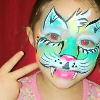 Maquillage, fêtes d'enfant, fantaisie, belly et body paint, FX