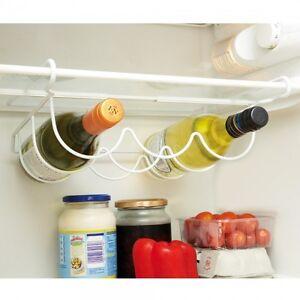 Universal Fridge Under Shelf Wine Bottle Rack Holder Space