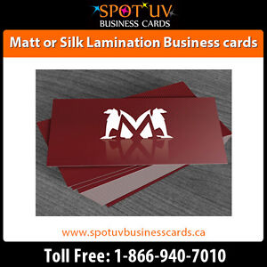Best Deals On 250 Matte Business Cards $195.00 - Fast Shipping London Ontario image 4