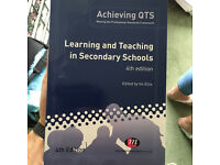 Achieving QTS in secondary schools