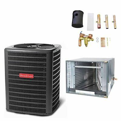"Goodman - 3 Ton Air Conditioner + Coil Kit - 13.0 SEER - 21"""