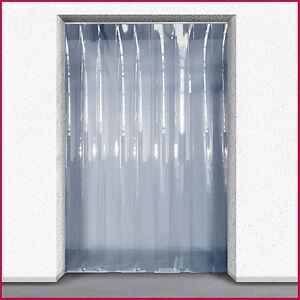 Coldroom PVC Strip Curtain / Door Strip Kit - 1m (w) x 2m (d) - 200mm x 2mm