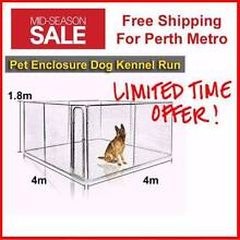 Dog Kennel ChainLink Dog Run Enclosure Dog Wooden Kennel Playpen Welshpool Canning Area Preview