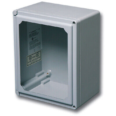 Stahlin Electrical Fiberglass Enclosureclassic Window Clw1109hw 11x9x6 Fg Hw