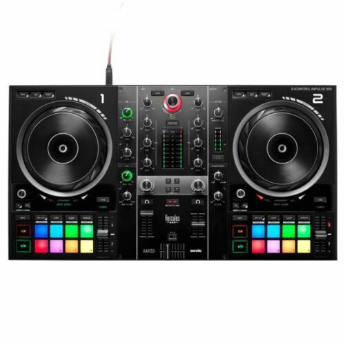 Hercules DJControl Inpulse 500 2-Channel DJ Controller w/ Built-In Interface