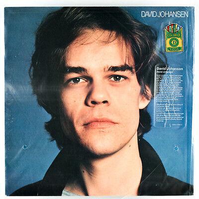 David Johansen – David Johansen Blue Vinyl Drastic Plastic New York Dolls