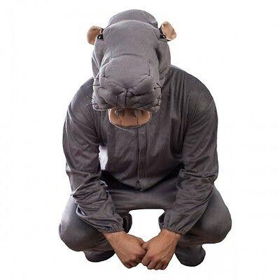 Adult OSFM TV Show NCIS Abby's Plush Animal Toy Bert the Farting Hippo Costume