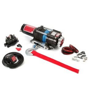 KIMPEX 2500 LB WINCH WITH SYNTHETIC ROPE BEST FOR PRICE/QUALITY