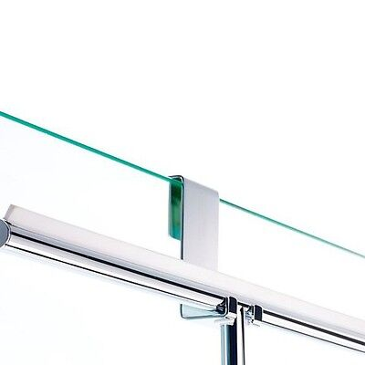 Haken DH 2 zum Einhängen Duschwand passend zu Badwischer Easy Decor Walther