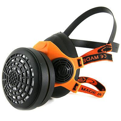 Profi Halbmaske mit Filter A1 Staubmaske Atemschutzmaske Mundschutz Atemschutz