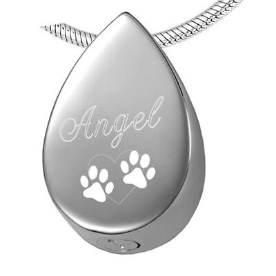 Pet Cremation Jewelry / Urn Necklace for Dog / Pet Loss Urn Necklace / Pet Loss