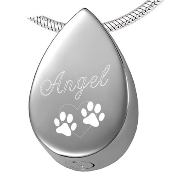 Pet Cremation Jewelry / Urn Necklace for Dog / Pet Loss Urn