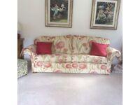 Designer 3 Seater & 2 Seater Sofa + Foot Stool