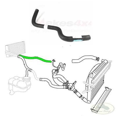 LAND ROVER MANIFOLD TO HEATER INLET HOSE RANGE 95 02 P38 JHB100920 ALL MAKES