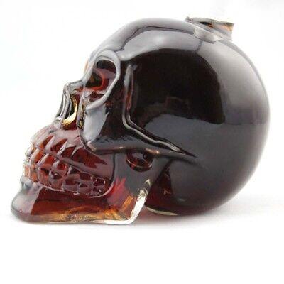 Crystal 330ML Skull Head Vodka Beer Whiskey Affairs Glass Bottle Cup Bar Home decor