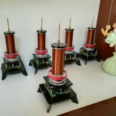 High Power Plasma Speaker Music Tesla Coil Wireless Transmitter Generator