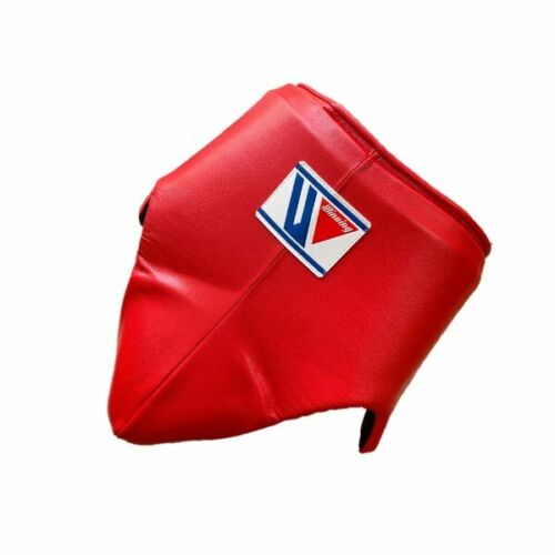Authentic Winning Boxing Groin Cup protector Red L size CPS500