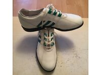 ADIDAS GOLF LEATHER SHOES SIZE 8 BRANS NEW