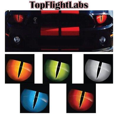 2005-2014 Ford Mustang Jason Brozak Headlight overlay Snake Eyes