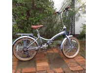 Ladies Folding Bike - used once- immaculate!