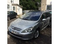 7 seater Peugeot 307 sw