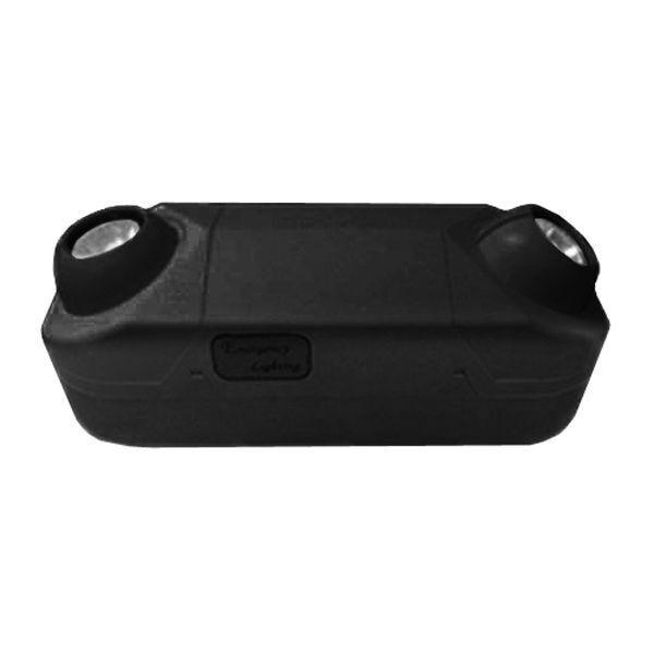 High Capacity MR16 6V 50W Emergency spot Light Lighting Battery Back-Up Black