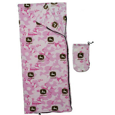Pink Camouflage Sleeping Bag (John Deere Pink Camo Sleeping Bag for)