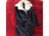 Girls River Island coat for sale