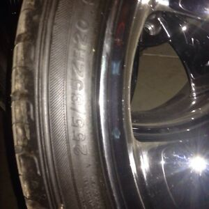 255/35ZR20 Tires & Rims  London Ontario image 4
