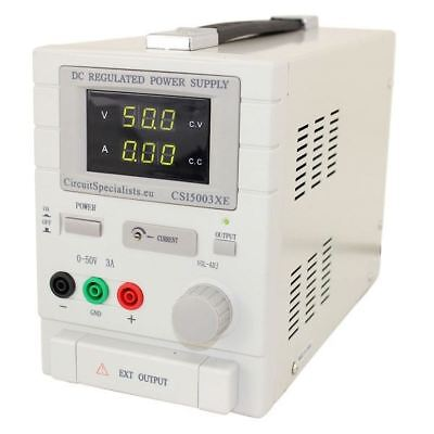 Adjustable Linear DC Bench Power Supply 0-50V 0-3A Variable CSI5003XE 3a Linear Power Supply